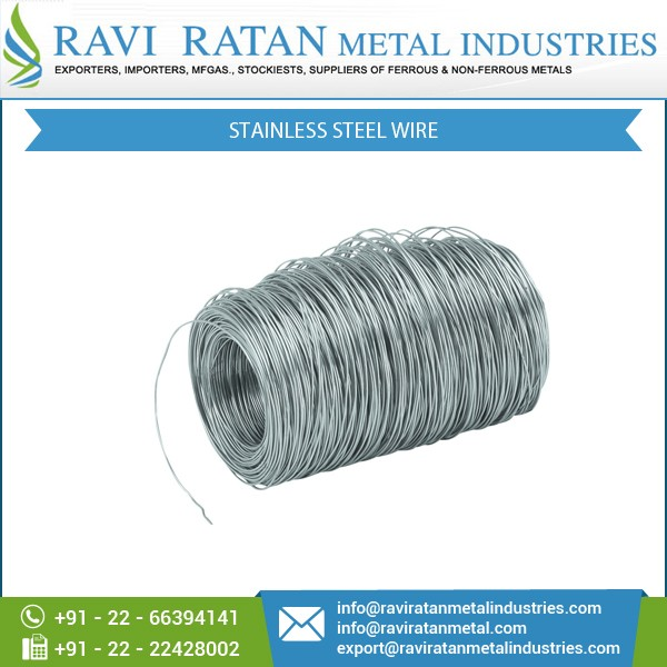 High Tensile Strength Flexible Stainless Steel Wire For Industrial ...