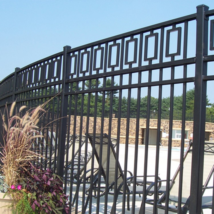used cheap garden artificial wrought iron metal fence. Black Bedroom Furniture Sets. Home Design Ideas