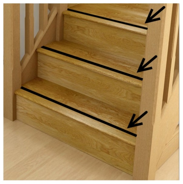 Non Slip Treads For Wooden Stairs Mycoffeepot Org
