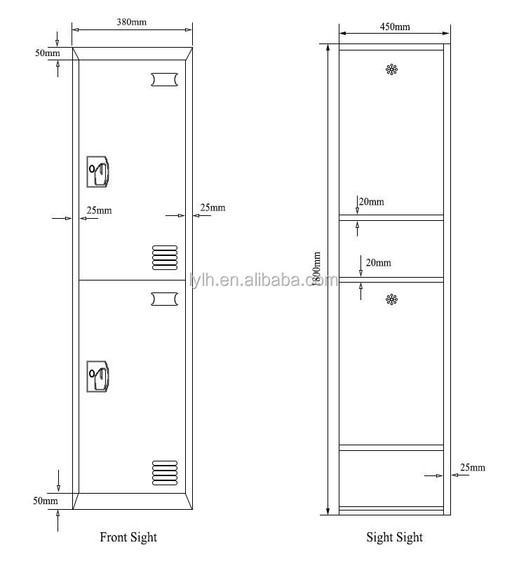 School student clothing locker door cabinet buy