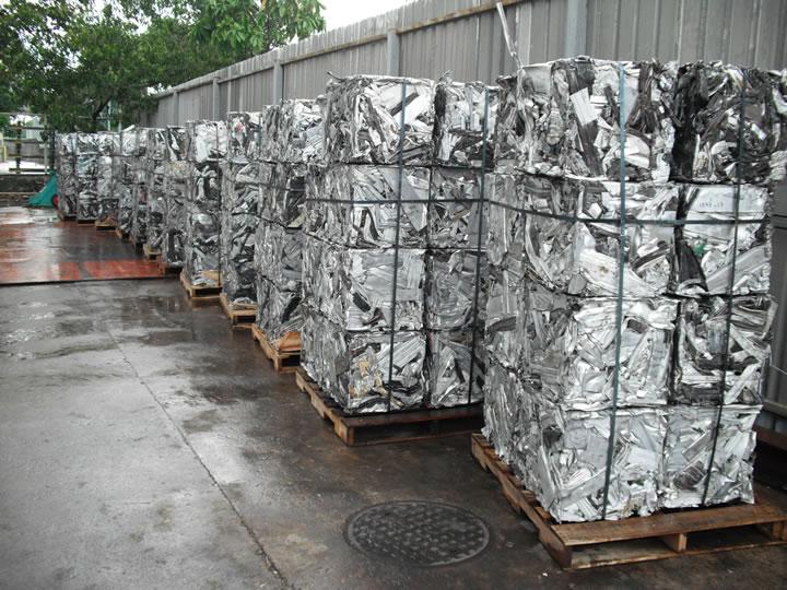 Pure 99.9% Aluminum Scrap 6063 / Alloy Wheels Scrap / Baled Ubc ...