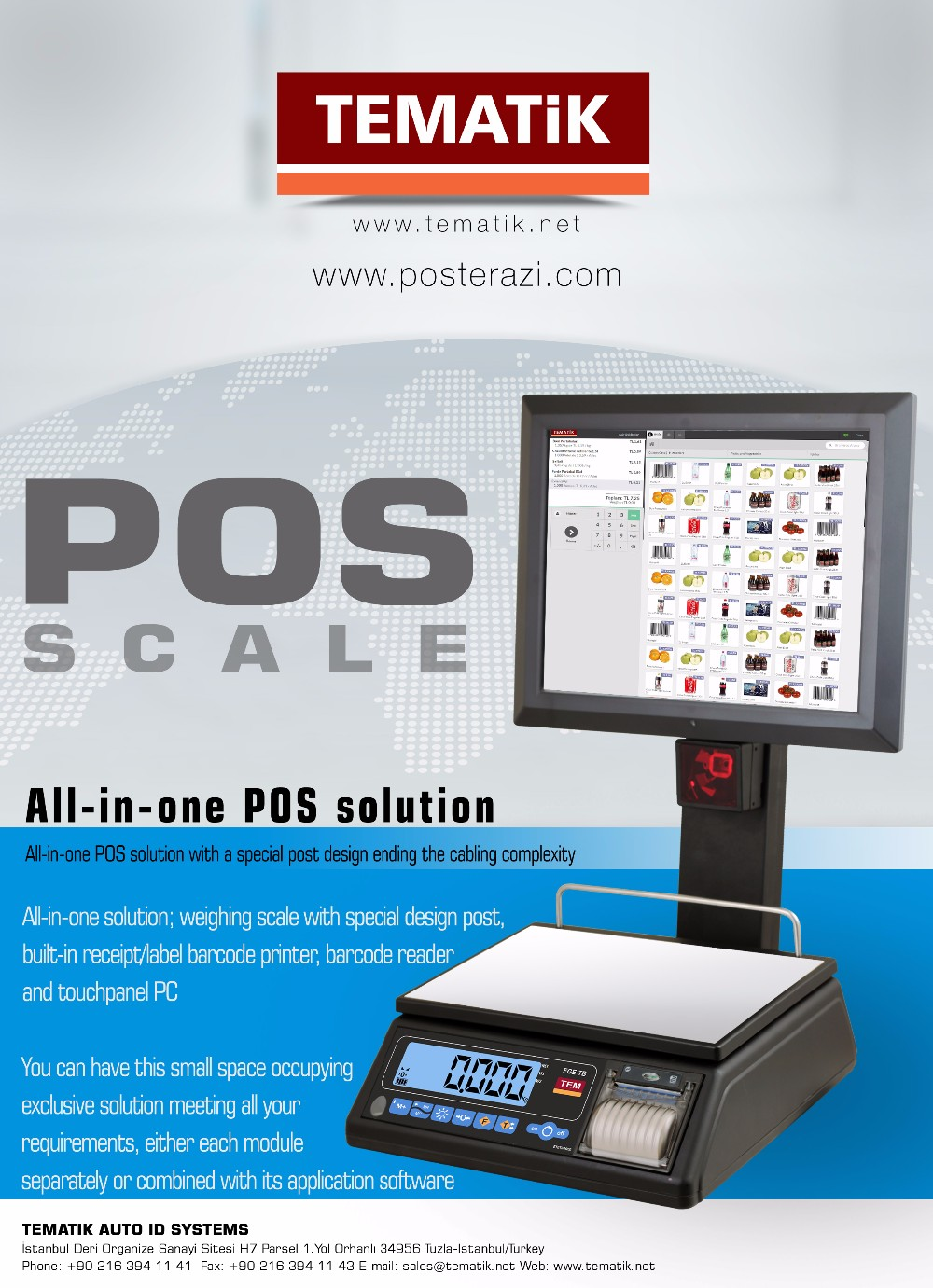 Pos Scale - Buy Pos Scale Product on Alibaba com