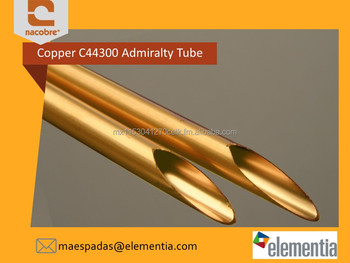 High Quality Copper Condenser Tube / Pipe C44300 Admiralty