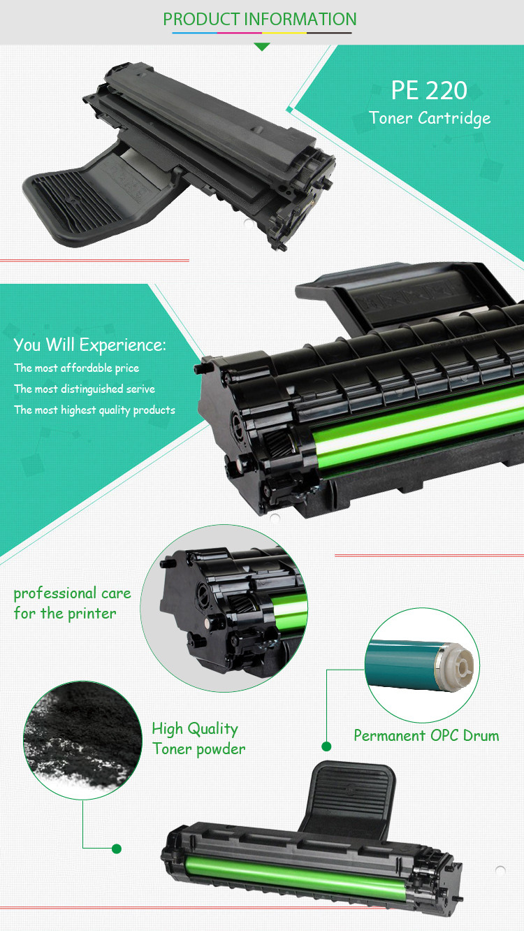 white laser toner pe220 for Xerox printer pe220 new technology product in china