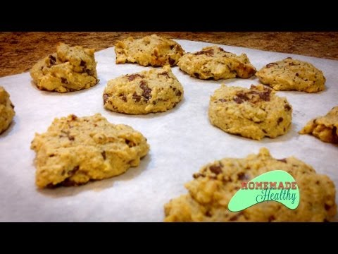 Almond Flour Chocolate Chip Cookies,Low Carb, Gluten Free, Wheat Free
