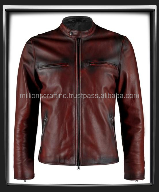 Pure Nice Leather Jacket In Sialkot Pakistan Nice Brown Color ...