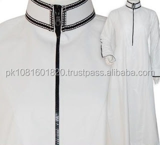 High Quality New Style Islamic Clothing Muslim Men Thobe