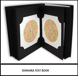 Ishihara Test Book /colour Vision Book/colour Blindness Test Chart ...