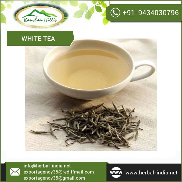 Branded White Tea in Delicate Flavour by Repoted Exporter