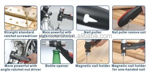kit impact conducteur ensemble outil à main marteau douille avec des morceaux