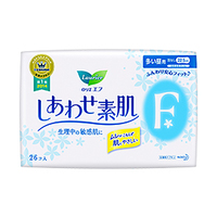 High absorbency and High quality wing sanitary napkin with super absorbent polymer