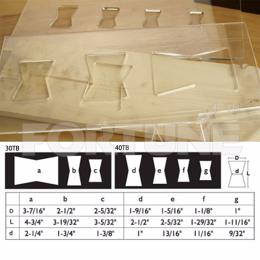 Acrylics Erfly Key Inlay Templates Router Accessories Is