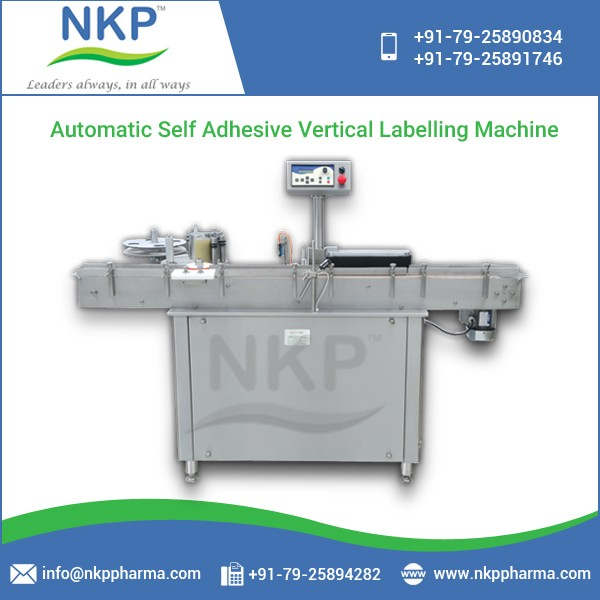 Hot Selling User Friendly Vertical Labeling Machine at Industry Leading Rates