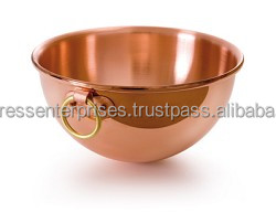 Solid Copper Mixing Bowl for America Kitchenware