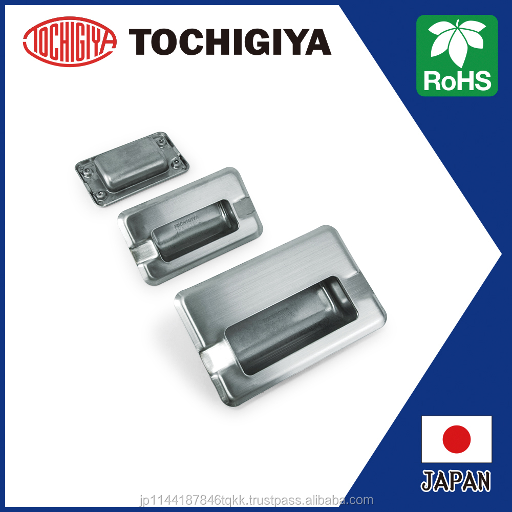 THA-425N Flush Pulls SUS304 RoHS Japan 2D 3D data High Quality Handle Stainless