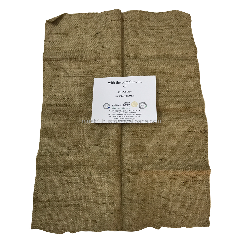 High Quality Hessian Jute Cloth in Reasonable Price