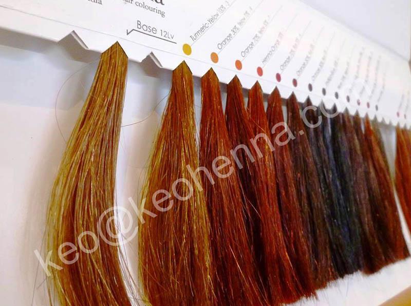 Pure Henna,Herbal Henna Colors