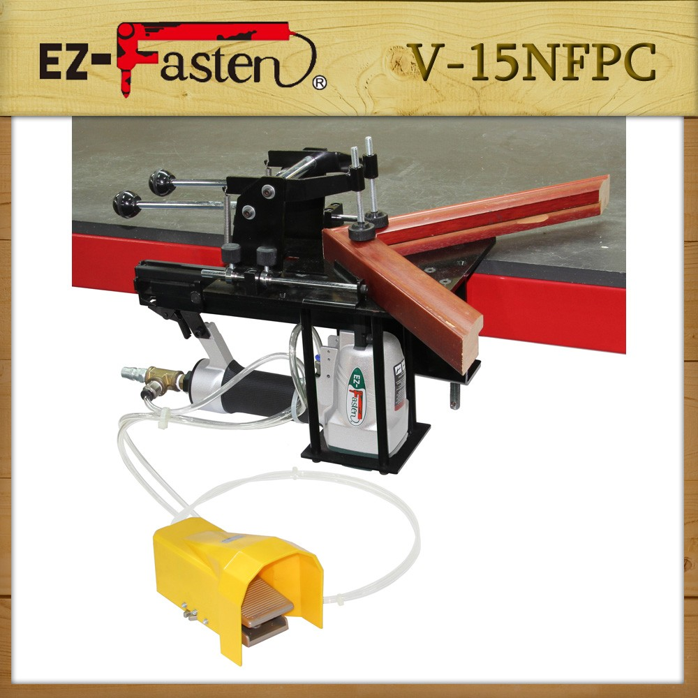 Hot Selling Picture Frame Underpinner Tools Pneumatic V-nail Gun ...
