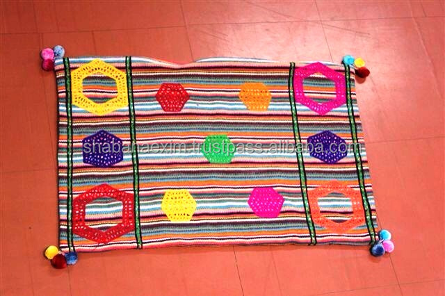 Rajasthani Traditional Colorful Home Decor Door Mats