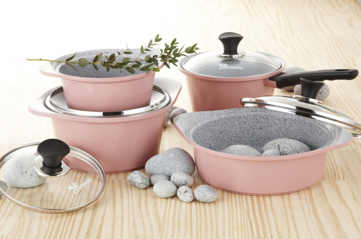 Ecoramic Marble Ceramic Cookware Buy Korea Ceramic