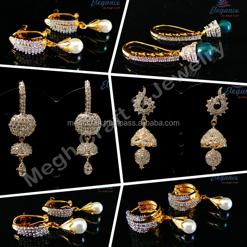 pearl school earrings big style ribbon ajojewel high jewellery bow wholesale simulated fashion