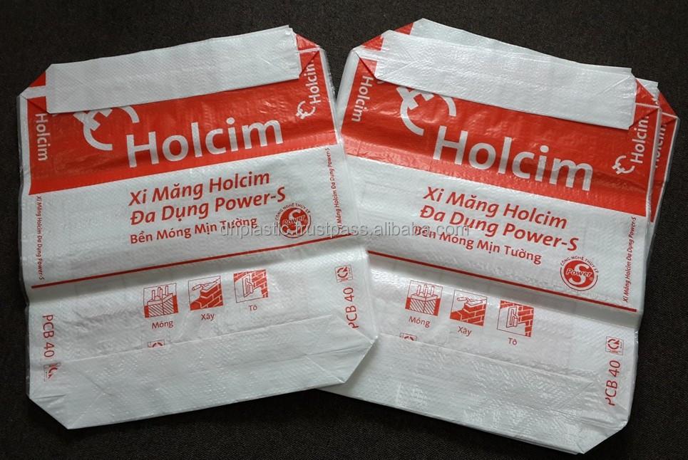 Pp Woven Laminated Block Bottom Valve Bag From Vietnam