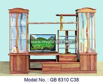 Salon Meuble Tv Armoire Murale Mdf Meubles En Bois Armoires De