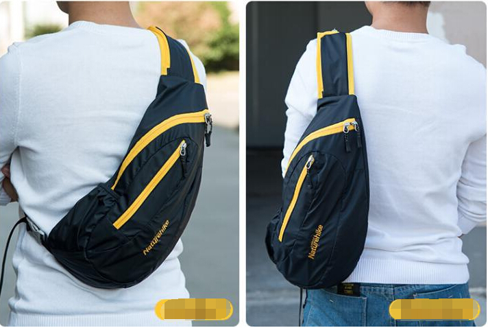 Men Sports Bike Oxford Sling Bag Pack Casual Crossbody Bags ...