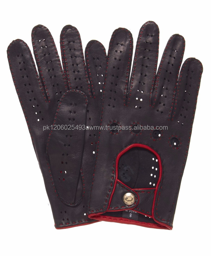 Red leather driving gloves mens - Leather Driving Gloves Leather Driving Gloves Suppliers And Manufacturers At Alibaba Com