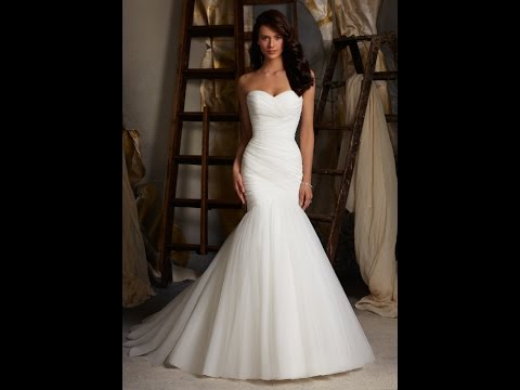 Mermaid Wedding Dresses - Mermaid Wedding Dress - Mermaid Style Wedding Dresses