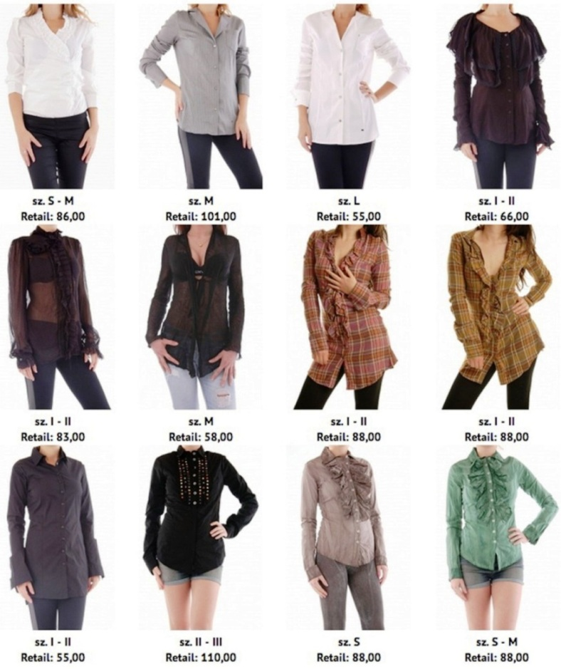 Woman Shirts Fall Winter Italian Brands 39 Bray Steve Alan 39 39 Sexy Woman 39 Mixed Types Colors Sizes