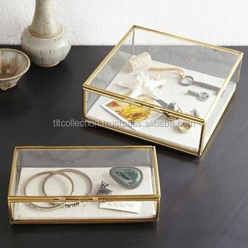 Multipurpose Box Candle Storage Box, Storage Box. Jewelry Box, Glass Box ,Display
