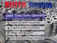Used car tyres from Germany