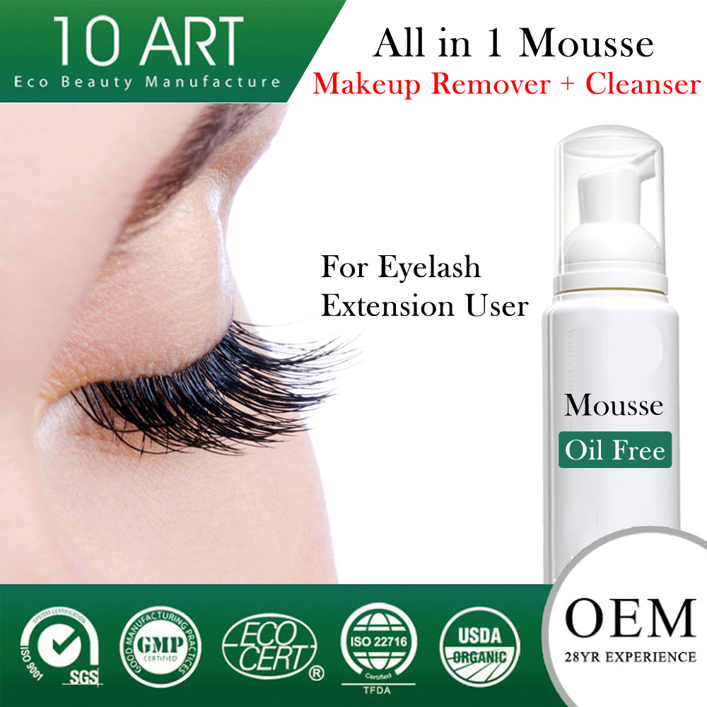Best Oil Free Makeup Remover For Eyelash Extensions Makeup