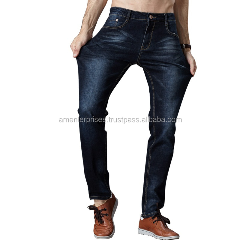 d14a1a590b 2017 mens denim jeans - Lasted Design 100% Cotton Denim Mens Jeans Cheap  Wholesale Men Pants Jeans
