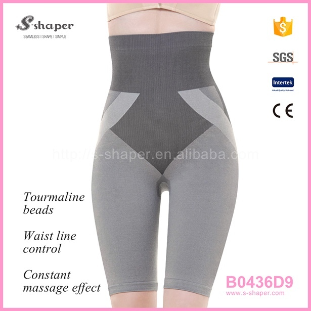 51e73efd7b9 S - SHAPER Slimming Pants Body Shaper Tourmaline Bamboo Shorts B0436D9