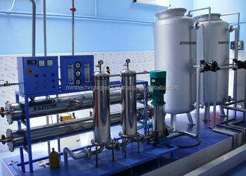 reverse osmosis water treatment plant pdf