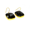 Porcelain Jasper Earring - Gemstone bezel Earring - 18k Gold plated fashion jewelry - IG2803