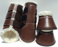 ORIGINAL LEATHER SPLINT BOOTS AND BELL BOOTS
