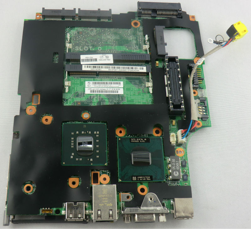 Used Motherboard Notebook Lenovo ThinkPad X200 Core 2 Duo 266 GHz