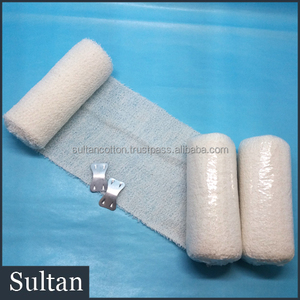 Cotton and Spandex Elastic Crepe Bandage manufacturer AVAILABLE certificated all sizes available