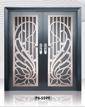 Hot Selling Stainless Steel Security Door Made From