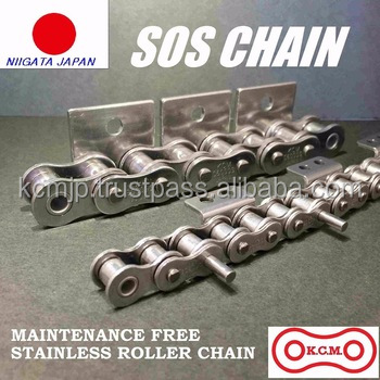 Various types of roller-chain from Japanese roller chains manufacturer