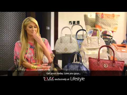 Paris Hilton speaks about Rouge By Paris Hilton bags in Lifestyle