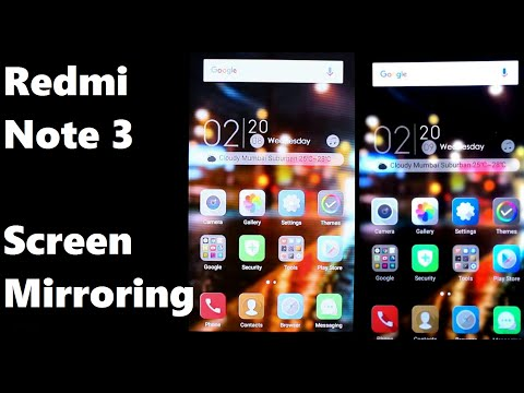 Redmi Note 3 Screen Mirroring Tutorial Wireless Display) - Video Streaming & Gaming Review