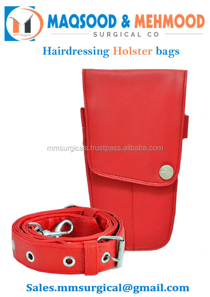 Classic The Pod Red Hairdressers holster pouch bag