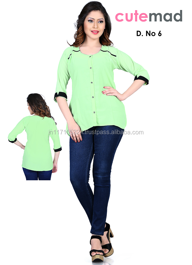 cf9e5b55c76 Newest tops collection 2015 online shopping kurti-cheap price tops-ladies  jeans top design