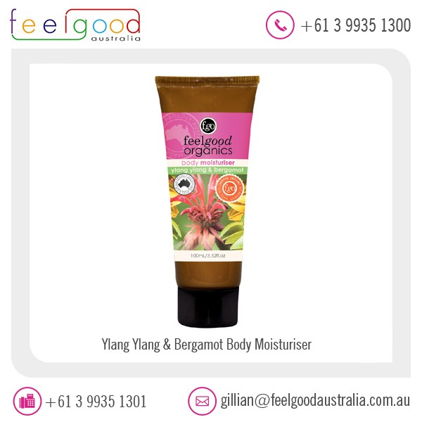 Ylang Ylang & Bergamot Body Moisturizer for Beauty Care