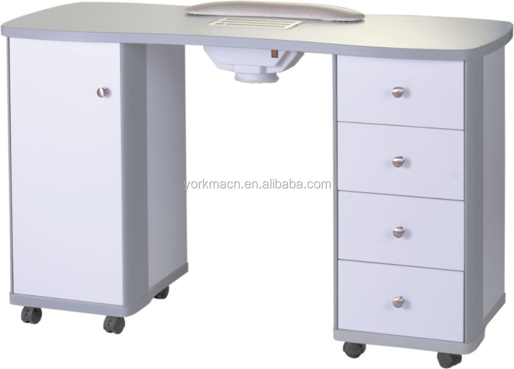 Vintage manicure table with exhaust fan buy nail salon for Manicure table with exhaust fan
