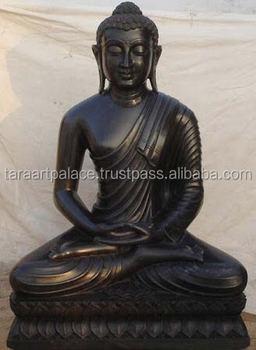 Black Marble Buddha Statue Buy Sculpture Buddha Statue